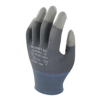 Marigold picosoft DG luz deber guantes de látex, tamaño 11, gris/blanco/azul: Amazon.es: Industria, empresas y ciencia