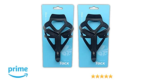 Tacx Deva Water Bottle Cages Pair Black
