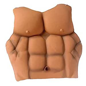 Child Muscle Man Chest Plate
