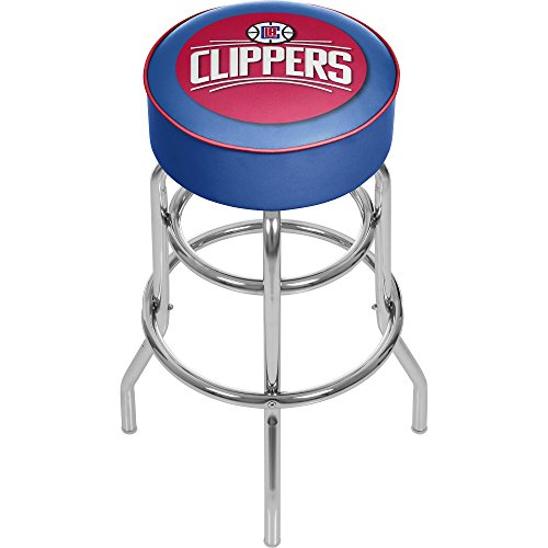 - NBA Los Angeles Clippers Padded Swivel Bar Stool