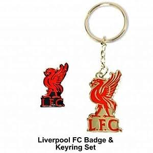 Amazon.com: Liverpool F. C. – Juego de pin y llavero Set ...