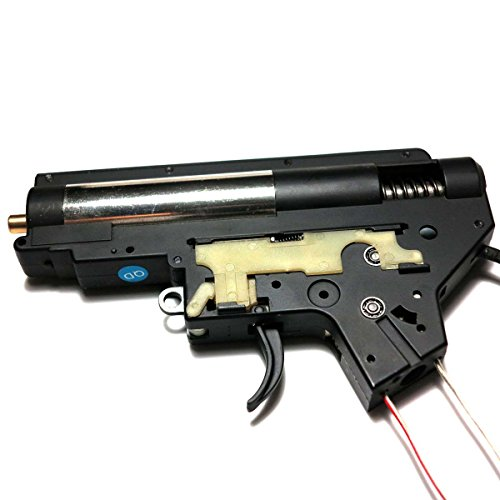 AEG Airsoft Wargame Shooting Gear E&C 8mm Complete QD Transform M4 Gearbox Version 2 Rear Line by Airsoft Storm