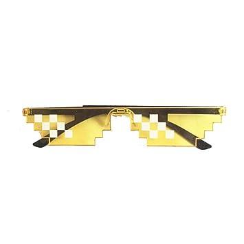 SUNNYJ Gafas De Sol Gafas 8 bit MLG Gafas De Sol Pixeladas ...