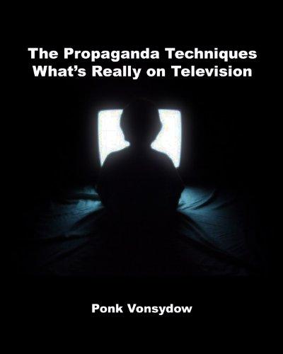 """The cover of """"The Propaganda Techniques."""""""