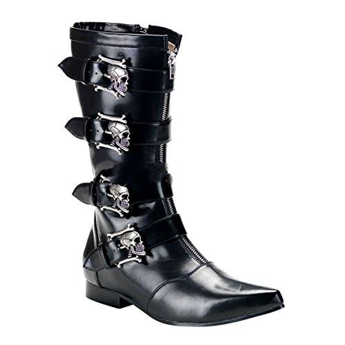 Demonia Brogue-107 - gothique punk Pikes bottes chaussures unisex 40-46
