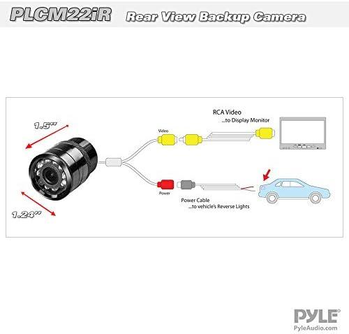 Kenwood DDX26BT Multimedia BT Receiver W// PLCM22IR Flush Mount Rear View Camera