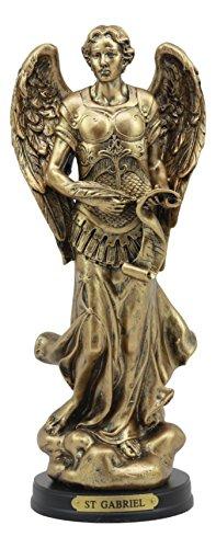 Ebros Byzantine Catholic Church Archangel Gabriel With Sacred Scroll Statue 8
