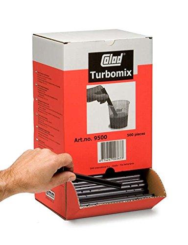 colad Turbomix Agitador/farbrü hrer 20 x 2 cm/500 unidades en dispens cartó n