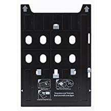 Inkjet PVC Card Tray for Epson Artisan 1430, Stylus Photo 1400, 1410, 1430W, 1500W, R800, R1800, R1900, R2000, R2880, SureColor P400 & P600
