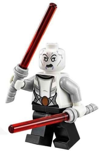 NEW LEGO ASAJJ VENTRESS (NEW VERSION) MINIFIG figure toy 75087 assaj