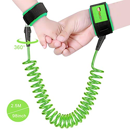 Anti Lost Wrist Link, Child Safety Harness for Toddlers, Babies & Kids from Twins' Dad