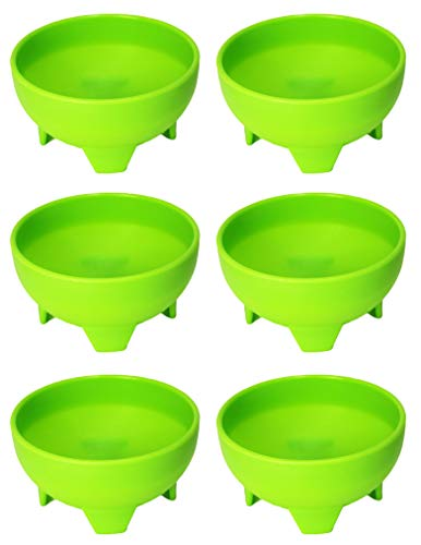 Set of 6 Lime Green - Black Duck Brand 4.5