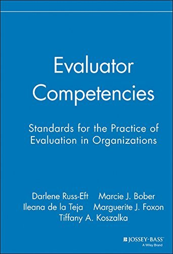 Evaluator Competencies: Standards for the Practice of Evaluation in Organizations by Darlene Russ-Eft (2008-03-07)