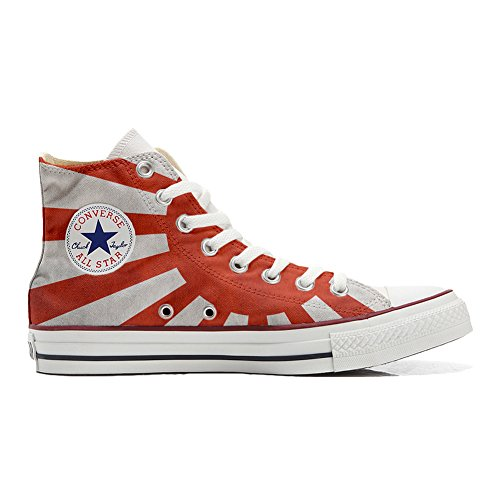 Handwerk Customized Unisex Star Flagge Size EU mit Produkt Schuhe All Japan Personalisierte 44 Converse qYHRwt