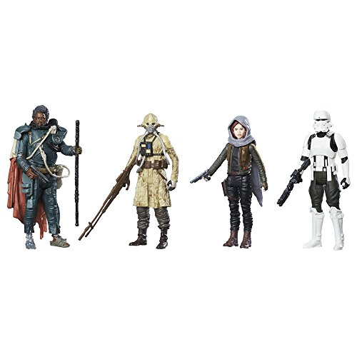 [Star Wars: Rogue One Jedha Revolt Action Figure 4-Pack] (Star Wars Items)