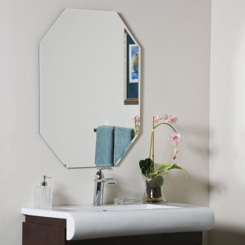 Decor Wonderland Frameless Wall Mirror