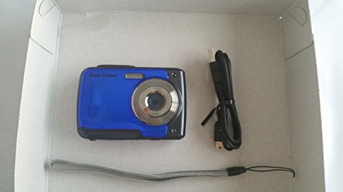 iON Cool-iCam 8MP Waterproof Digital Camera with 4x Digital Zoom and 2.4-inch LCD Screen