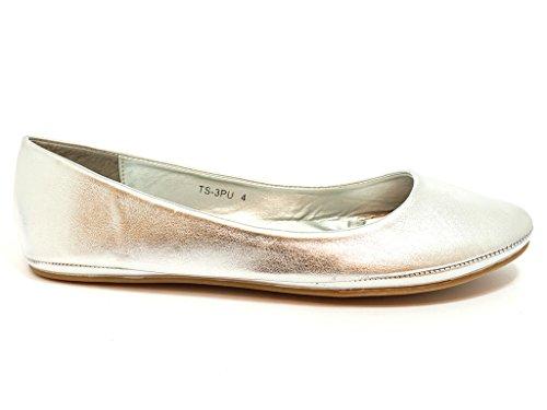 Patent Silver Envy donna Argento Ballet London wxXfUnfHqv