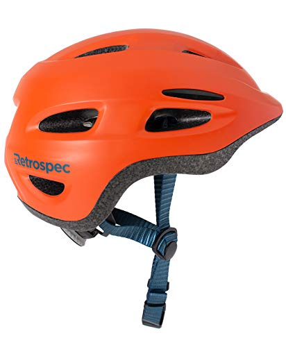 - Retrospec Scout-1 Bike & Skate Helmet CPSC Approved Ages 1-10, Matte Burnt Orange, S 49-53cm