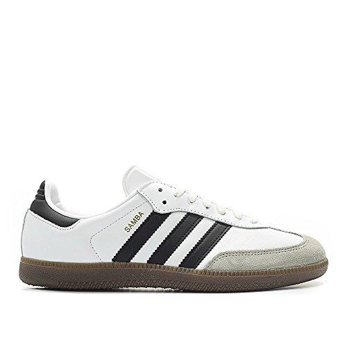 Adidas Samba Originals Men's Shoes White/Core Black/Clear Granite bz0057 (8 D(M) US)