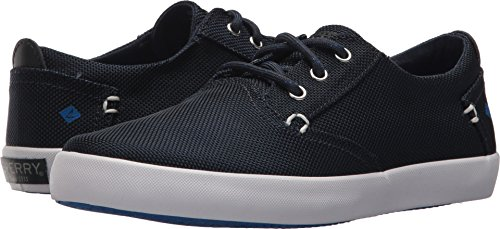 Sperry Bodie Boat Shoe , Navy, 4 Medium US Big Kid ()