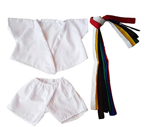 (Karate Uniform Outfit Teddy Bear Clothes Fit 14