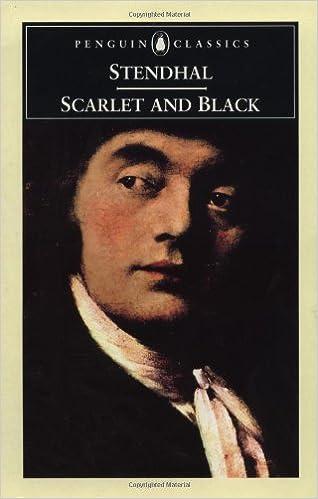 Scarlet and black stendhal online dating