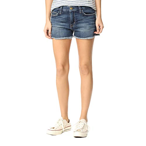 Current/Elliott Women's The Boyfriend Shorts, Loved, 29