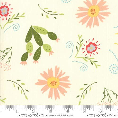 Walkabout Moda Quilt Fabric Floral Desert Garden Ivory Style 37560/11