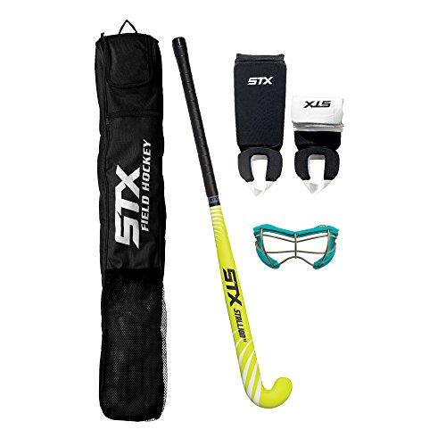 STX Field Hockey Junior Starter Pack, Black/Teal
