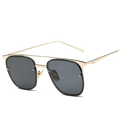 Chahua Les hommes européens et américains et les femmes fashion lunettes de soleil Lunettes rétro élégant de la mode des lunettes de soleil,