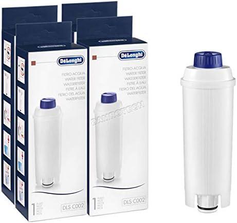 DeLonghi - 4 filtros de agua antical, descalcificadores para ...