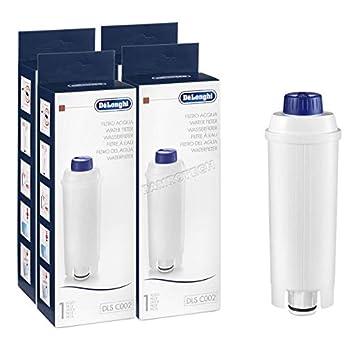 4x DeLonghi filtro de agua cafetera BCO ECAM ETAM DLS C002 SER3017 ...