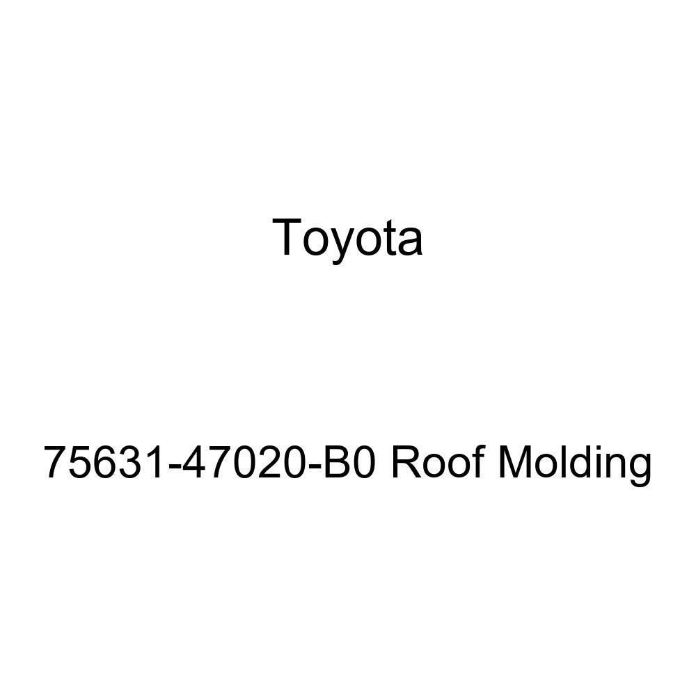 Genuine Toyota 75631-47020-B0 Roof Molding
