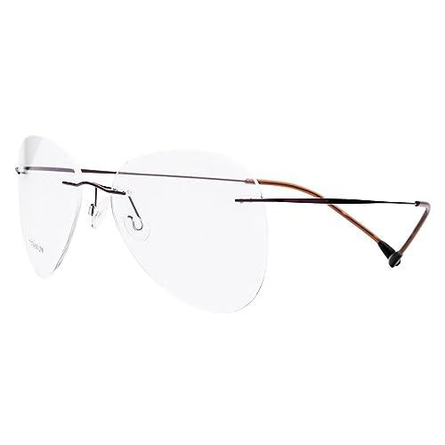 Tianou Marco marco marco de gafas de luz material de aleación de titanio