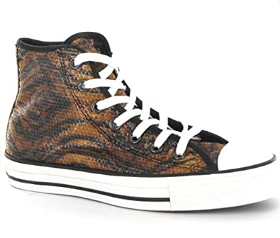 c9e682aef1d1 Converse Ct All Star Tiger Sequins Hi Womens Trainers Size 9  Amazon ...