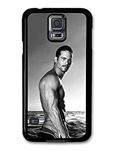 Paul Walker Black and White Photoshoot in the Sea case for Samsung Galaxy S5 by runtopwell