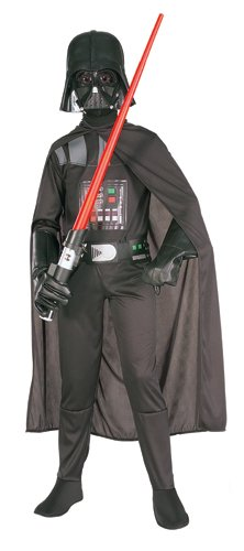Rubie's Star Wars Child's Darth Vader Costume, Medium