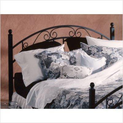 Hillsdale Furniture 1141BQ Willow Bed Set, Queen, Textured Black