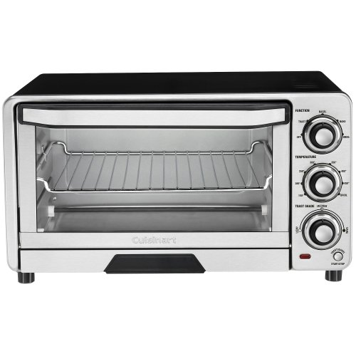 Cuisinart Custom Classic Toaster Oven Broiler, Tob-40, Stainless Steel (Classic Toaster Oven Broiler compare prices)
