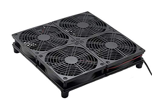 Cooling Fan Heat Radiator USB Power Ultra Silent Mining Rig Dissipate Temperature Control for ASUS GT/RT-AC5300