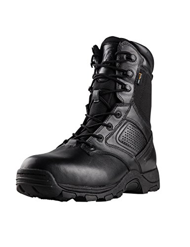 FREE SOLDIER Outdoor Men 9 Inches Waterproof Steel Toe Shoes Desert Tactical Duty Work Boots (8)