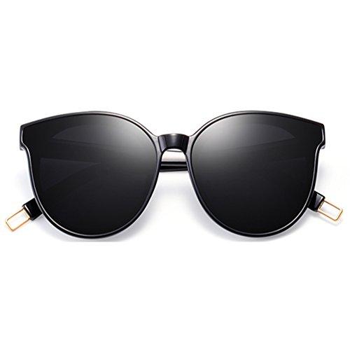lunettes nouvelles Style visage 2018 Rouge Star rondes de Mme soleil de Des et marée Net femmes hommes lunettes HL T8nZBqxvFw