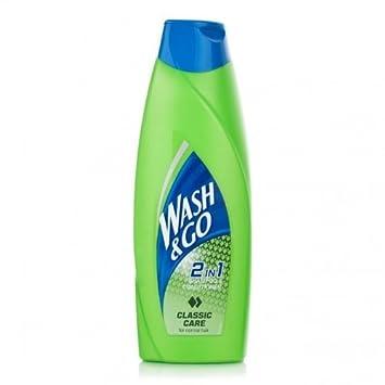 Wash /& Go 2in1 Classic Care Shampoo /& Conditioner