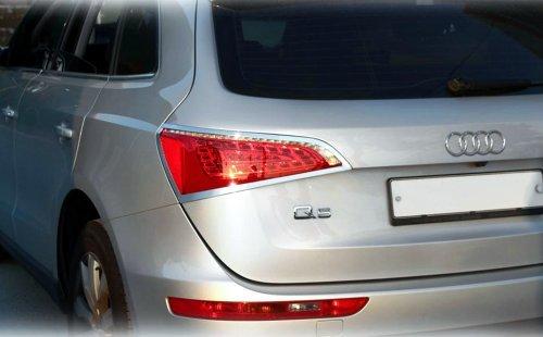 Tuning Accessoires pour Audi Q5/de feux arri/ère chrom/é Cadre Feux arri/ère Cadre /Éclairage arri/ère Cadre