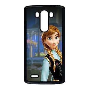 LG G3 Cell Phone Case Black Anna Frozen Illust Disney Art JNR2165707