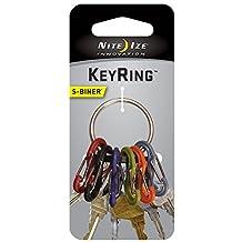 Nite Ize KRG-03-11 S-Biner Key Ring, Stainless
