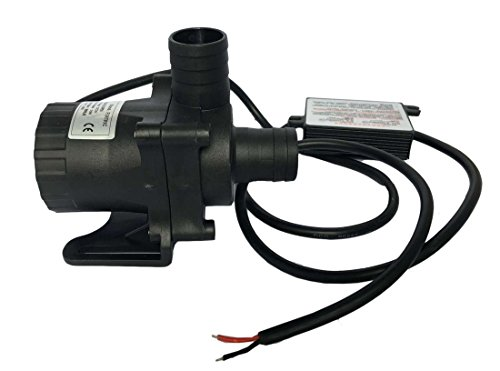 FORTRIC ZKWP09 Submersible 3 Phase DC 12V 750GPH Water Pump Oil Circulation Cooling Pump Garden Pond Fish Tank Fountain Pump Max Lift - Magnetic Pond Pump