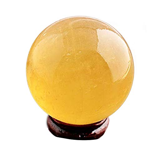 Feng Shui Natural Citrine Crystal Sphere Ball 2