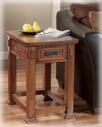 Genial Signature Design By Ashley Cross Island Rectangular Wooden End Table